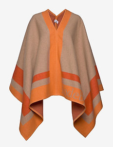 RODEBJER VARCA - ponchos & capes - camel