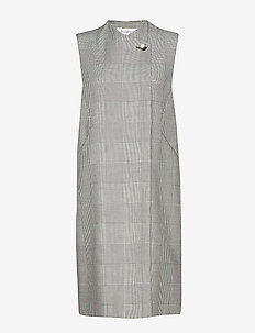 RODEBJER GALIANA DOGTOOTH - vester - grey