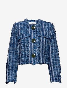 ANAIS - blazers - denim blue