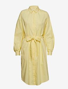 Agata - shirt dresses - light yellow