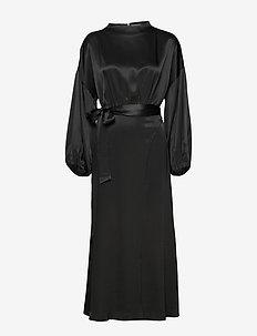 INDIO - wrap dresses - black