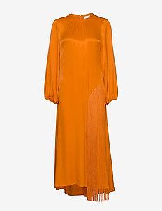 RODEBJER MAJORELLE FRINGE - robes maxi - clementine