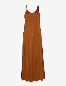 RODEBJER TAMRA - maxi kjoler - cinnamon