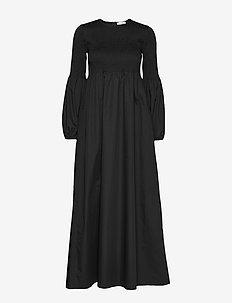 RODEBJER SANDY CRISP - robes maxi - black