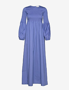 RODEBJER SANDY CRISP - robes maxi - blue pearl