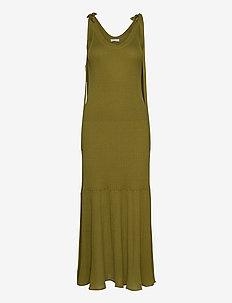 RODEBJER LAGUNA - knitted dresses - sunny lime