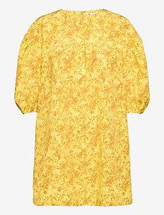 RODEBJER POLINI - sommerkjoler - rave yellow