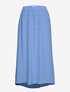 RODEBJER KADIHA CREPE - midi skirts - cloud blue