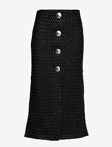 RODEBJER LEILANI - midi skirts - black