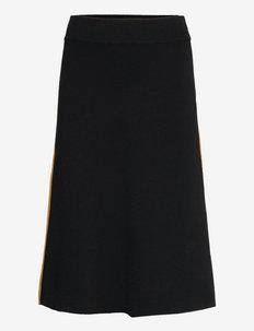 RODEBJER SURI - midi skirts - black