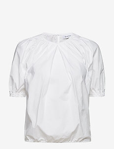 RODEBJER NAHUA COTTON - blouses à manches courtes - white