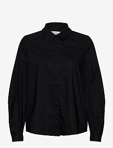 YSABELLA - long sleeved blouses - black