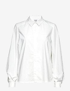 YSABELLA - langermede skjorter - white