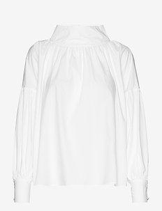 RODEBJER KELLMAN COTTON - blouses à manches longues - white