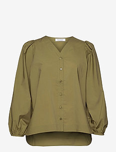 ORION - long sleeved blouses - green earth