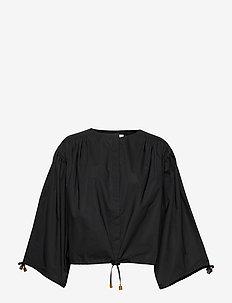 RODEBJER BREEZE COTTON - blouses à manches longues - black