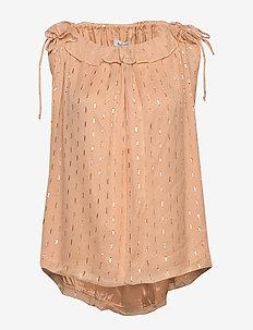 RODEBJER JEDIA - blouses sans manches - medina pink