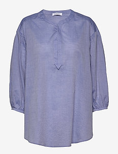 RODEBJER SAKINA - blouses à manches longues - blue pearl