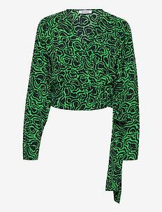 RODEBJER DOVE - pitkähihaiset puserot - emerald green