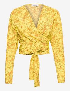 RODEBJER DOVE BUDDING - blouses med lange mouwen - rave yellow
