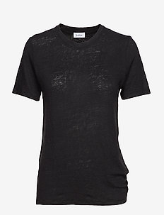 Ninja Linen - basic t-shirts - black