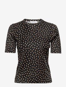 RODEBJER HARMONY OM - t-shirts - black