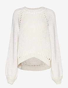 RODEBJER LINKA - jumpers - puffy white