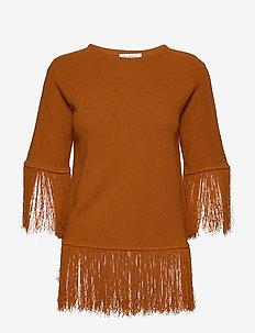 RODEBJER GHITA - t-shirts - cinnamon