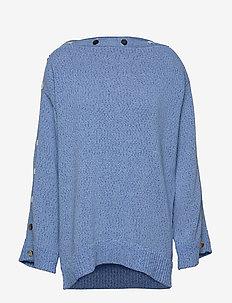 RODEBJER AWA - jumpers - bluebird blue