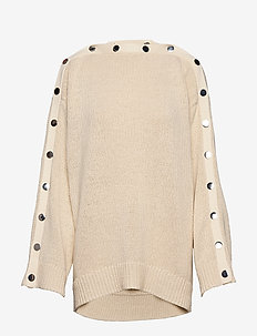 RODEBJER AWA - jumpers - creamy ivory