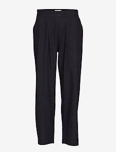 Astrud - rette bukser - black