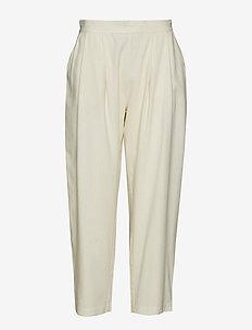 Astrud - broeken med straight ben - ecru