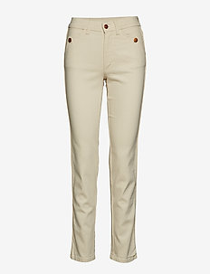 Eyvor - slim fit bukser - ecru