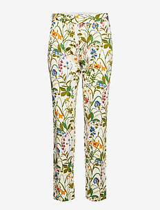 Paloma Twill - trousers with skinny legs - ecru