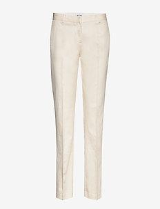 RODEBJER MEDINA - slim fit spodnie - ecru