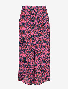 RODEBJER NOLA ABSTRACT - hosen mit weitem bein - strong pink
