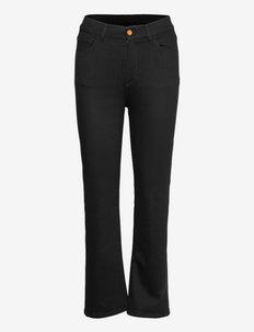 RODEBJER HUSTON DENIM - straight jeans - black