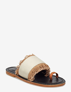 Kath Structure - flat sandals - off white