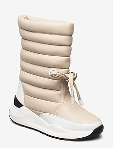 RODEBJER DORA - lange stiefel - puffy white