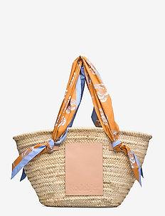 RODEBJER OCEAN STRAW BAG - fashion shoppers - sandy ochre