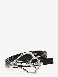 RODEBJER SHELL - belts - black/silver