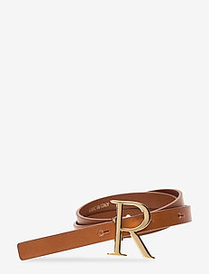 RODEBJER LOGO - riemen - brown/gold