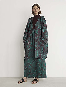 RODEBJER OMRA - light coats - pool green