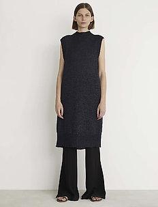 RODEBJER CHAIMA - midi dresses - black
