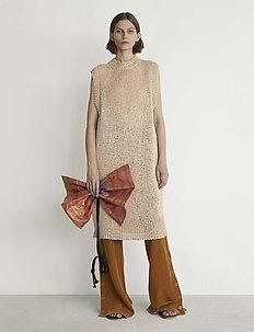 RODEBJER CHAIMA - midi dresses - faded terracotta