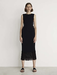 RODEBJER ETTAHRA - midi dresses - black