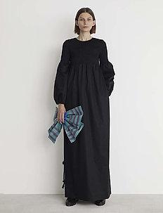 RODEBJER SANDY CRISP - maxi dresses - black
