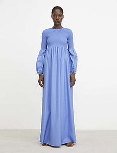 RODEBJER SANDY CRISP - maxi dresses - blue pearl