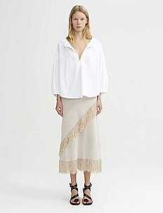 RODEBJER NIM - blouses à manches longues - white