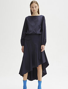 RODEBJER VAYK - blouses à manches longues - dark navy